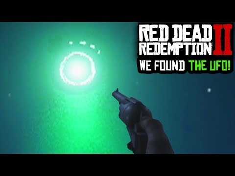 THERE'S A UFO IN RED DEAD REDEMPTION 2 - EPIC UFO EASTER EGG