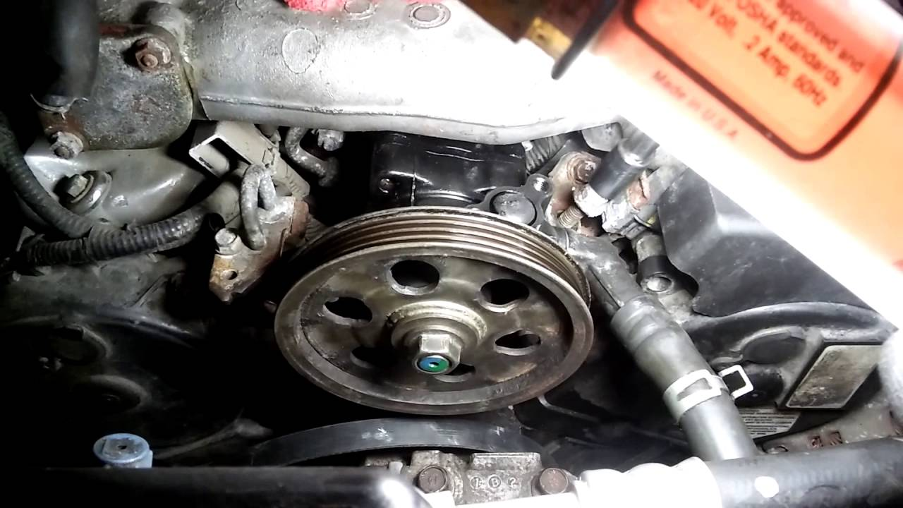 Good 2001 Honda Odyssey Power Steering Pump Replacement/ замена насоса ГУР
