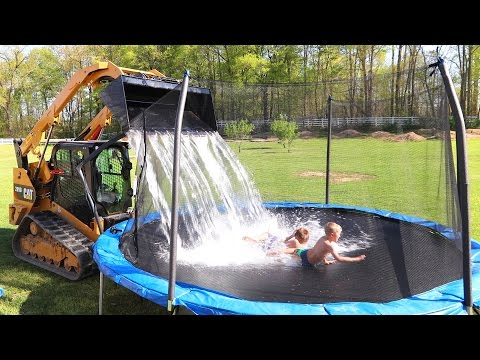 Thumbnail: I GOT THEM!! **Homemade waterpark**
