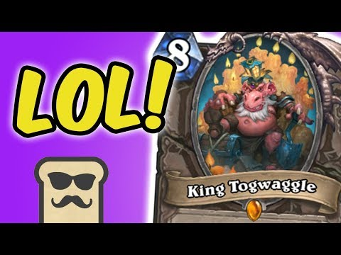 TROLLING WITH KING TOGWAGGLE! | KOBOLDS AND CATACOMBS | HEARTHSTONE | DISGUISED TOAST