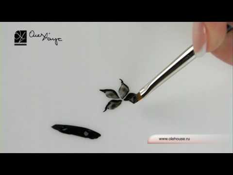 Кисти для дизайна НОГТЕЙ и их использование | 10000000roz - YouTube