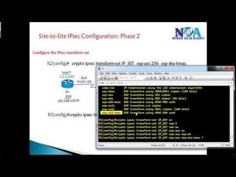 CCIE Routing & Switching version 5:  IPsec- IKE phase 2