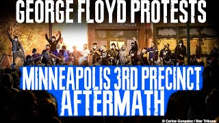 Inside Minneapolis 3rd Precinct and Surrounding Area - George Floyd Protests - Clean Up After Riots
