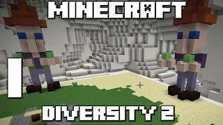 NUEVA SERIE! Minecraft Mapa DIVERSITY 2! Capitulo 1!