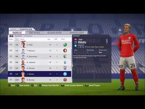 FIFA 18 - Career Mode - Best Young Players 80+ Under A Million For League 2