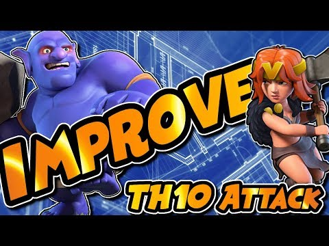 BE A BETTER TOWN HALL 10 ATTACKER | TH10 WAR ATTACK STRATEGY | Clash ofClans