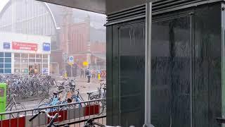 Storm Dennis hits Amsterdam