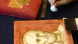 Скиния. Рождение Иконы. Creating an Icon. Anton and Ekaterina Daineko.