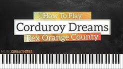 rex orange county edition ukulele chords