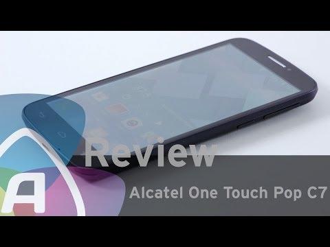 Alcatel One Touch Pop C7 review (Dutch)