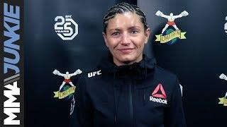 UFC Denver: Ashley Yoder full post-fight interview