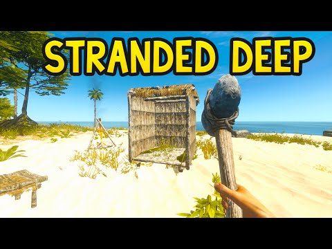 BUILDING A HOME! Stranded Deep Gameplay