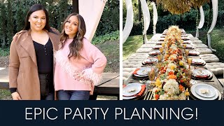 Help Me Plan My EXTRAVAGANT Thanksgiving Party