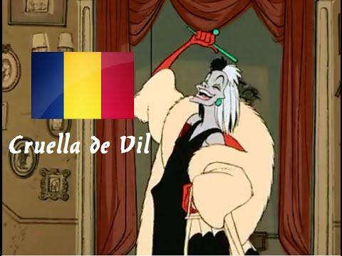 101 Dalmatians - Cruella de Vil (Romanian)