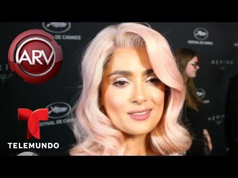 Salma Hayek se robó las miradas con su nuevo look | Al Rojo Vivo | Telemundo