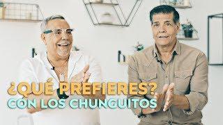 LOS CHUNGUITOS se confiesan jugando a 'Qué prefieres'