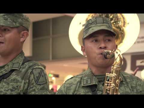 Banda musical de la V Región Militar | FLASHMOB