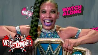 Bianca Belair reflects on historic WrestleMania moment: WrestleMania Watch Along, April 10, 2021