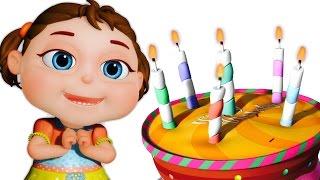 Happy Birthday Song | Kids Songs & Nursery Rhymes | Videogyan