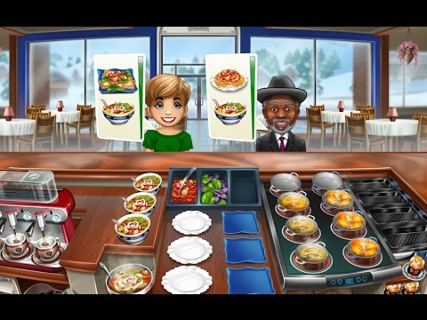 COOKING FEVER ITALIAN BUFFET UPGRADED Gameplay Android / iOS