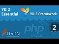 Видео курс YII2 Essential. Урок 2. MVC pattern в YII2
