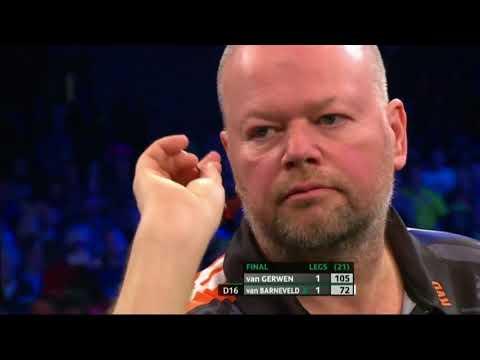 Raymond van Barneveld vs Michael van Gerwen. Unibet Darts Masters 2018. Part 1