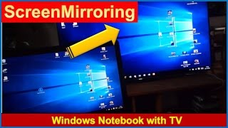 Screenmirroring TV with Windows 10       OK: Laptop, Notebook, Tablet, PC