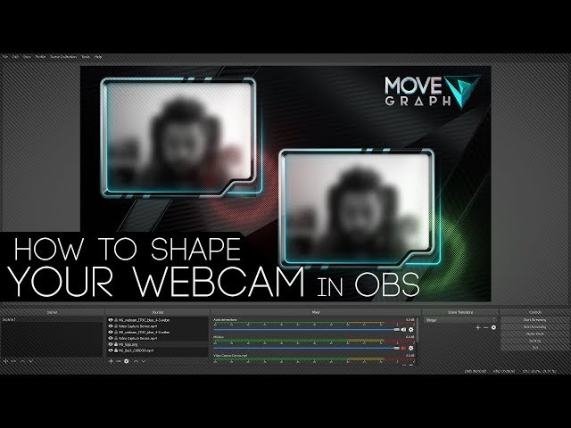 How to Shape your Cam with Image Mask Filter in OBS Studio