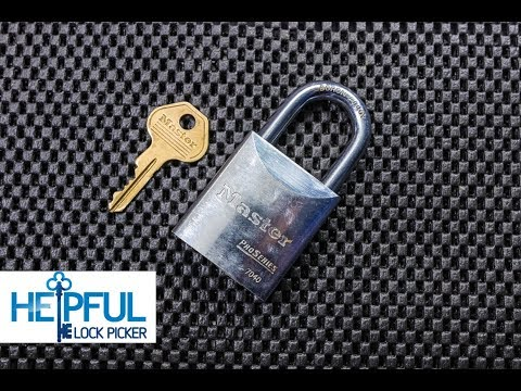 [208] Master Lock 7040 Pro Series Picked and Gutted