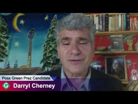 Darryl Cherney of Earth First! Interview possible Green Party Presidential Candidate