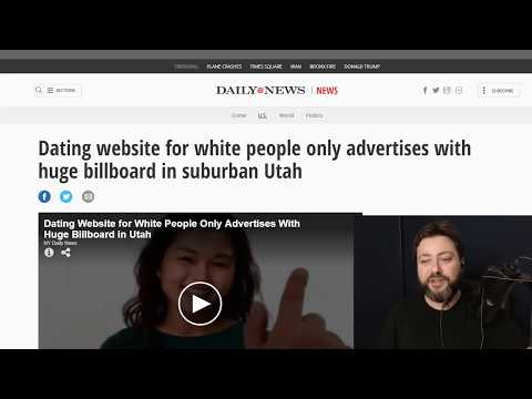 White People Dating Websites are Racist