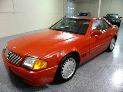 1991 Mercedes Benz 300sl 2dr Convertible 1992 Sold