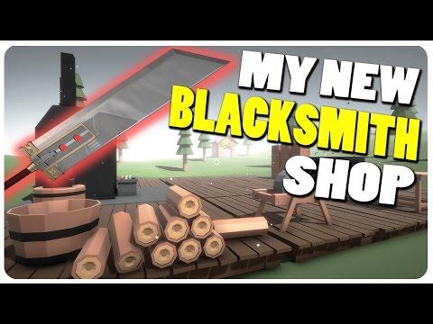 Blacksmith Simulator - The NEW My Little Blacksmith Shop? | Blacksmith Sim Gameplay