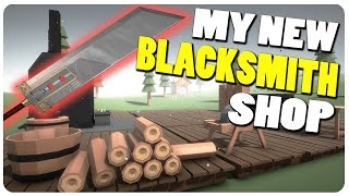 Blacksmith Simulator - The NEW My Little Blacksmith Shop? | Blacksmith Sim Gameplay