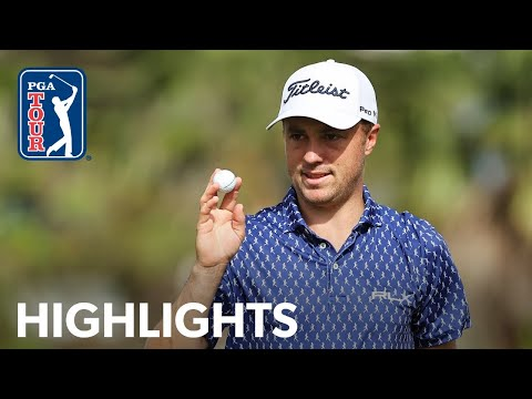 Justin Thomas shoots 4-under 67 | Round 2 | Mayakoba Golf Classic