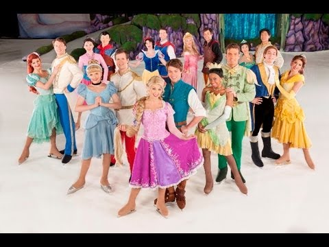 DISNEY ON ICE -CINDERELLA/ TAGLED / beauty and the beast/ princess and the frog AND MORE...