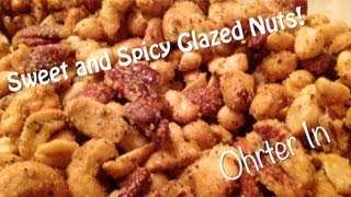 Ohrter In - Sweet And Spicy Glazed Nuts