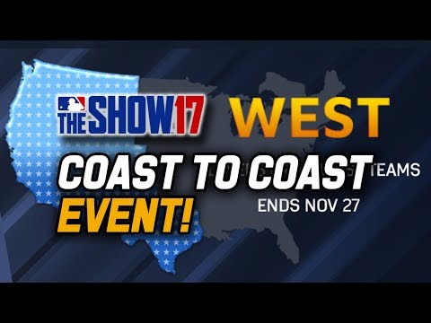 New Coast to Coast Event! Diamond Rewards! | MLB The Show 17 Diamond Dynasty Events