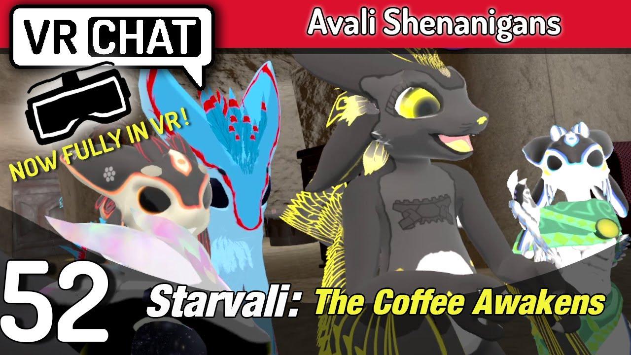 VRChat | Avali Shenanigans | Ep.52 | Starvali: The Coffee Awakens - YouTube