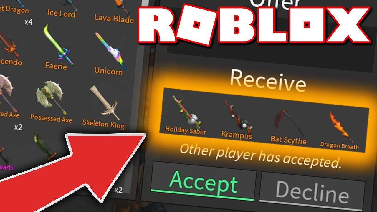 I Got The Rarest Exotic Knives In Roblox Assassin Youtube