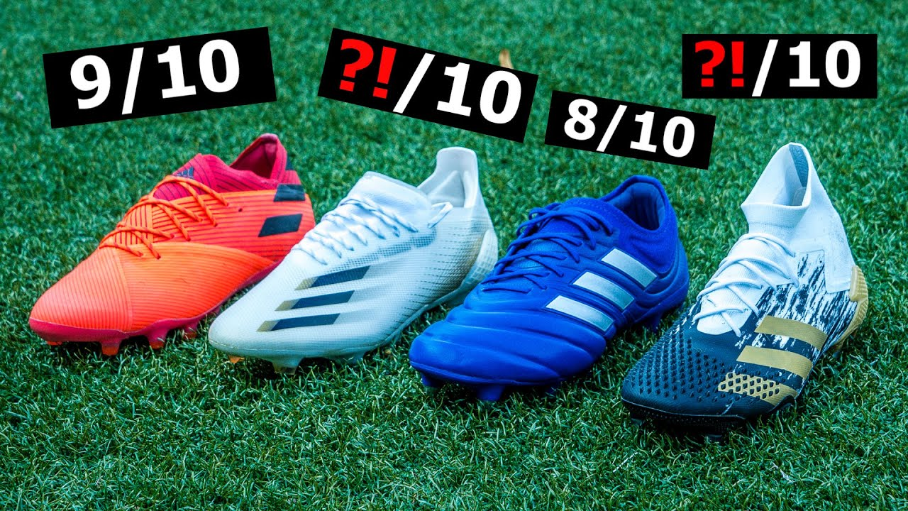 Welcher neue Adidas Fußballschuh ist der Beste?! - YouTube