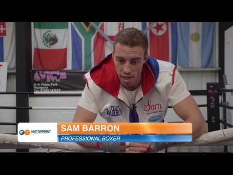 Professional boxer Sam Barron talks about his partnership with Motorpoint