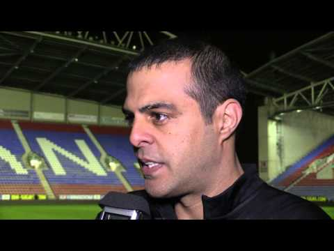 POST-MATCH: Guy Luzon speaks after 3-0 victory at Wigan Athletic