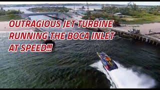 Outrageous Speed off Boca Raton turbine power