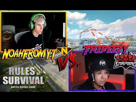 Tripeezy vs Noah in custom matches..