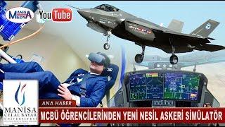 MCBÜ Öğrencilerinden yeni nesil askeri simülatör