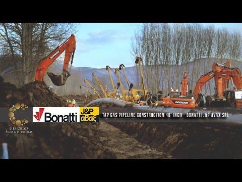 TAP Gas Pipeline Construction 48' inch - Bonatti J&P Avax srl