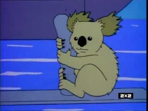 The Simpsons - Dramatic Koala