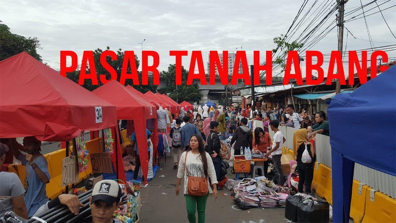 VLOG Wajah Baru Pasar Tanah Abang '' KEREN & RAMAI '' - YouTube