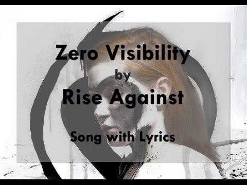 [HD] [Lyrics] Rise Against - Zero Visibility
